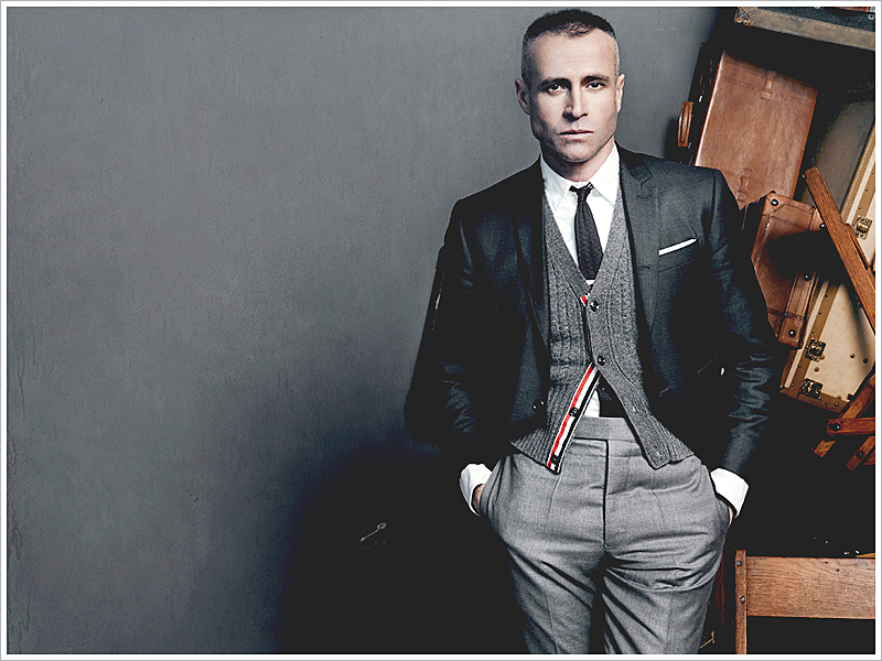 Thom Browne, himself