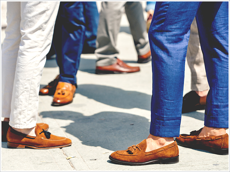 Ben Sherman // Focus: The different types of loafers, so many to choose from!