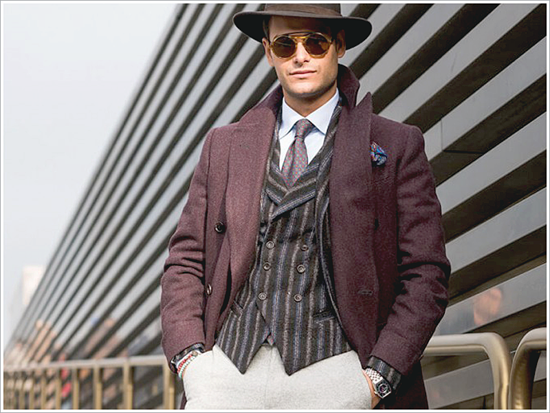Mr. Frank Gallucci // Focus: His topcoat comes in a color that we also provide!