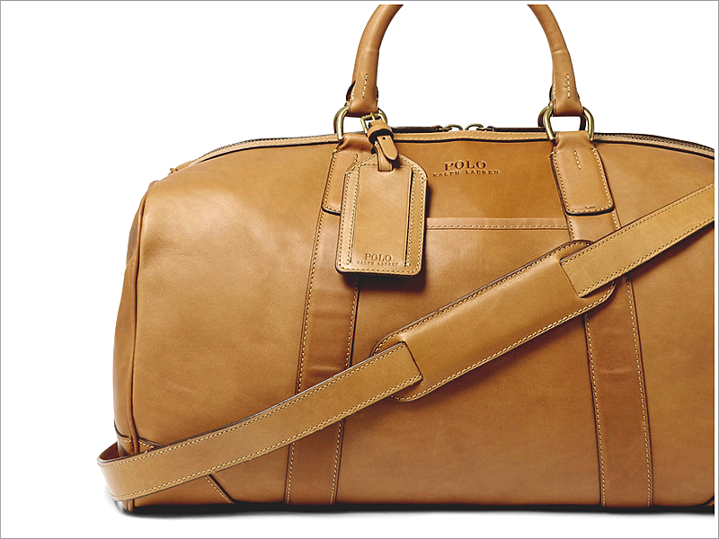 Polo Ralph Lauren Duffle Bag // Focus: All leather and minimalistic! A classic.