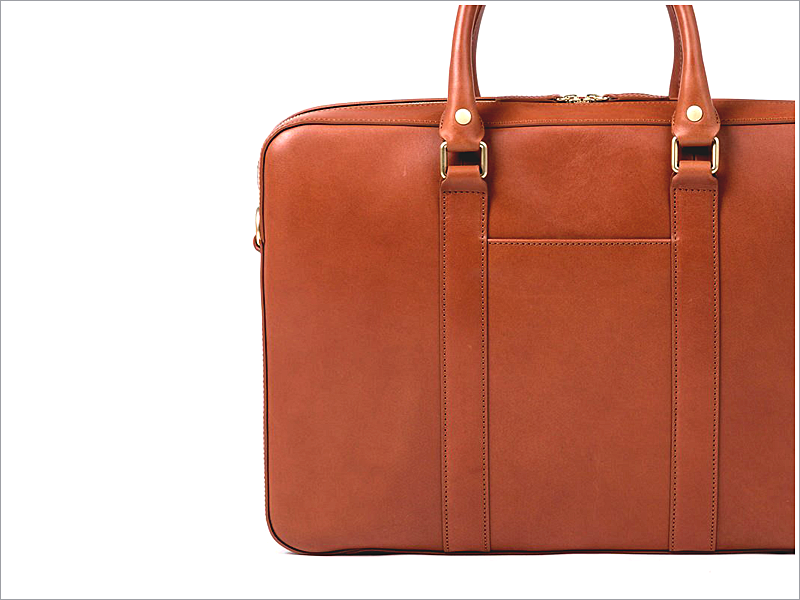 "Linjer Co.'s ""Soft Briefcase"" // Focus: The minimalistic design and soft leather!"