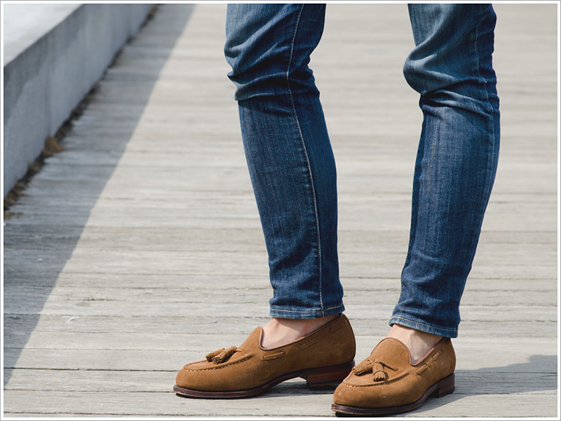Cris Domingo of La Garconniere // Focus: Jeans and loafers? Yes!
