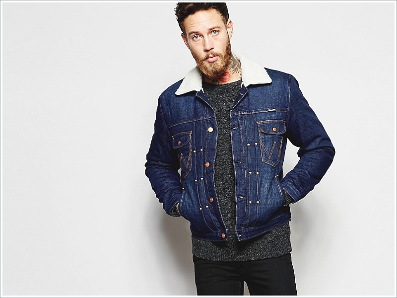 Asos' Take on the Sherpa Denim Jacket