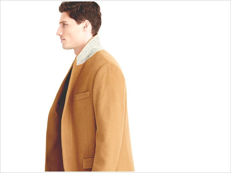 J. Crew's Ludlow Camel Coat