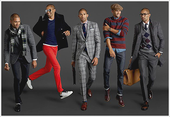 GQ essentials for Mr. Porter // Focus: The various patterns paired with grey suits and separates!