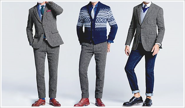 J. Crew for Mr. Porter // Focus: Grey suits broken a part and how they're used!