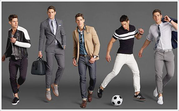 GQ essentials for Mr. Porter // Focus: All the different shades of color paired with grey.