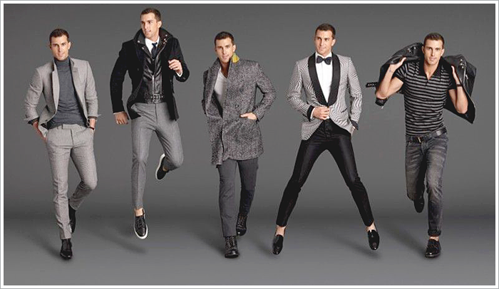 GQ essential for Mr. Porter // Focus: How grey suit separates are used in different combos!
