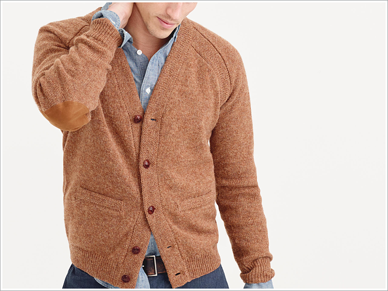 Wallace & Barnes' wool cardigan for J. Crew