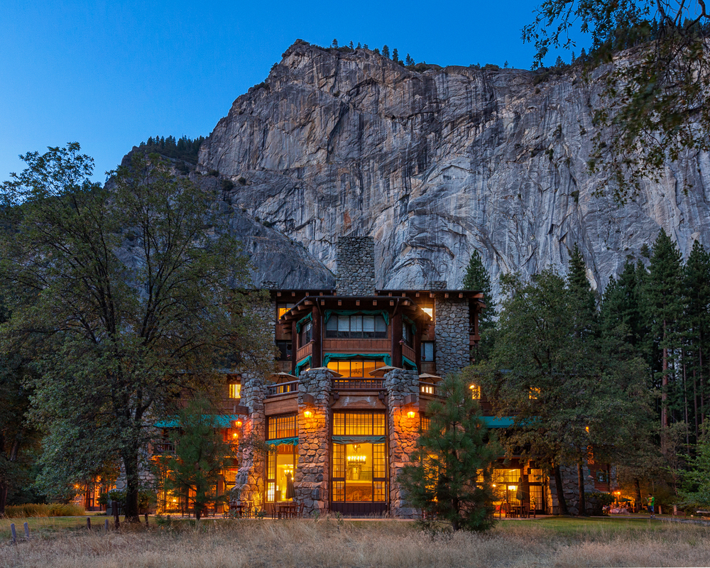 Ahwahnee Hotel Blue Hour - Yosemite National Park