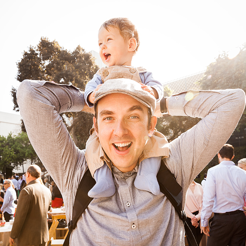 Josh lives in LA with his wife Jennifer, and son Patrick.