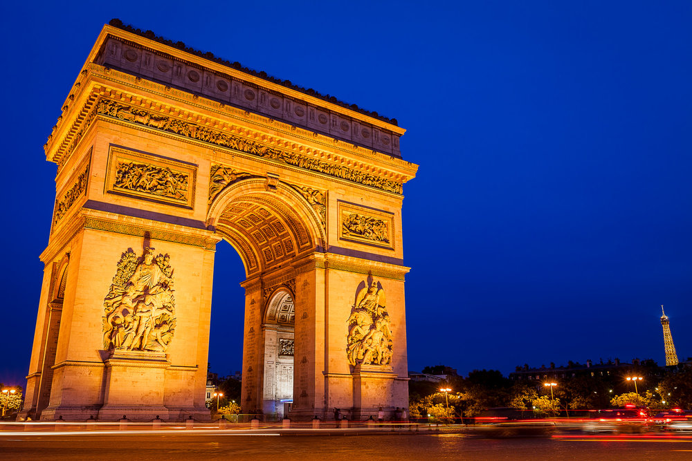 Arc De Triumph - Paris France-001.jpg