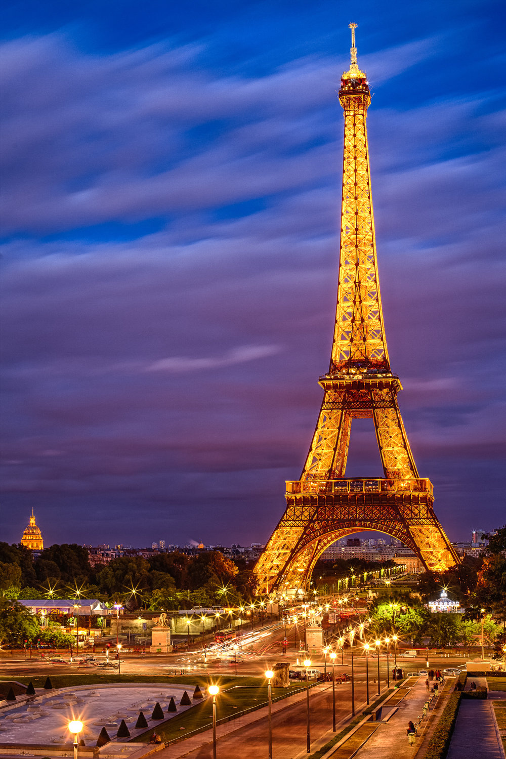 Eiffel Tower Sunset - Paris France-004.jpg