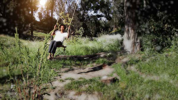 Rope Swing Meadow at Balboa Park
