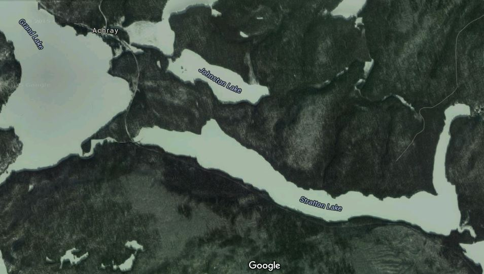 Route in Algonquin Park