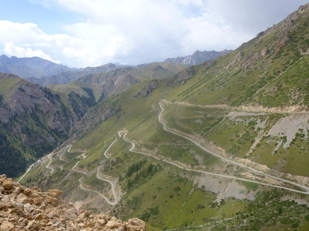 Kurtka Pass, Kyrgyzstan