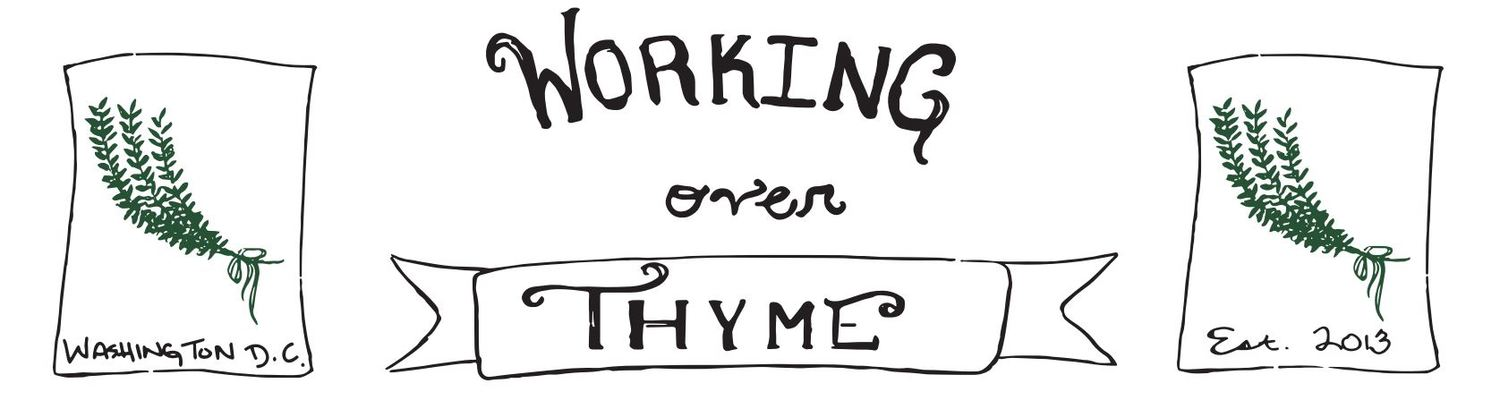 Working Over Thyme Farm