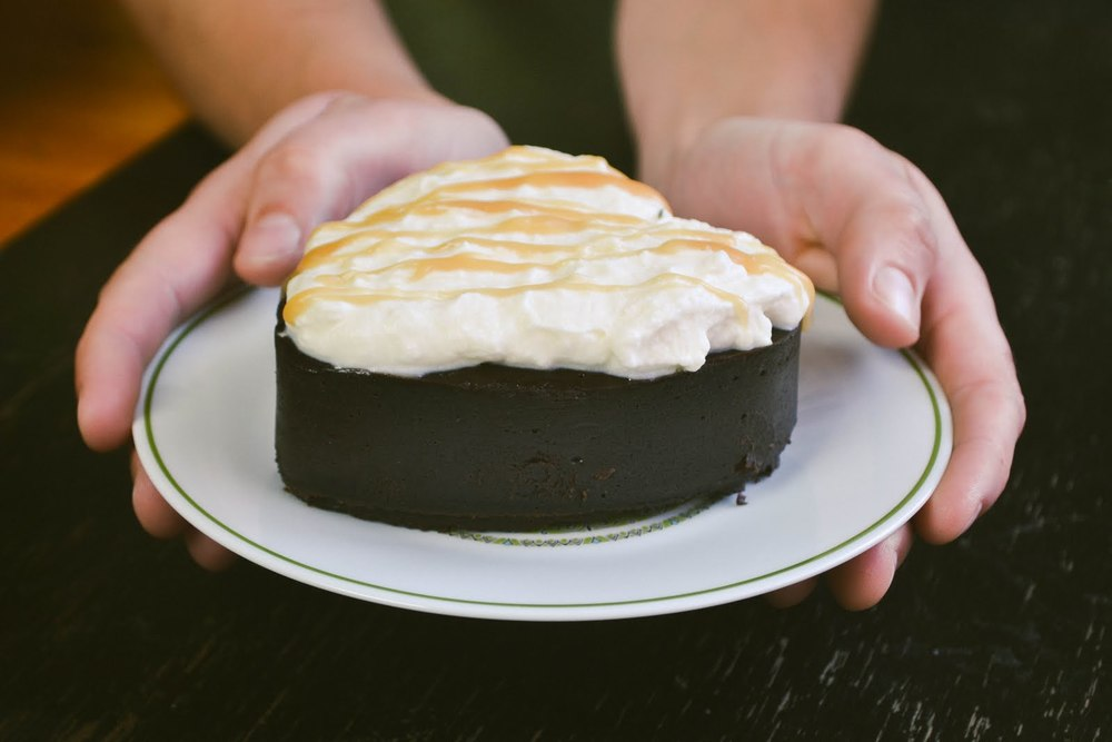 tasty tuesday: decadent chocolate torte with salted ...