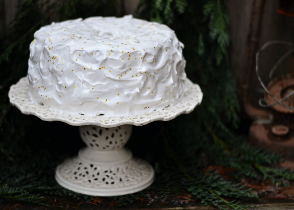 Peppermint Frosting For Angel Food Cake
