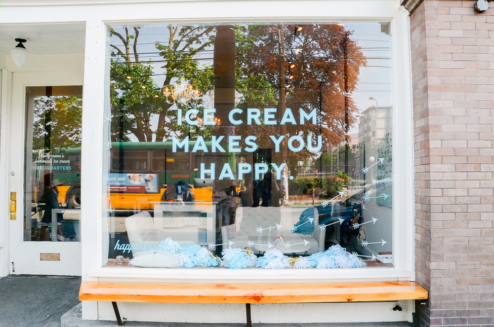 Molly Moon's Homemade Ice Cream Shop, Seattle, WA.