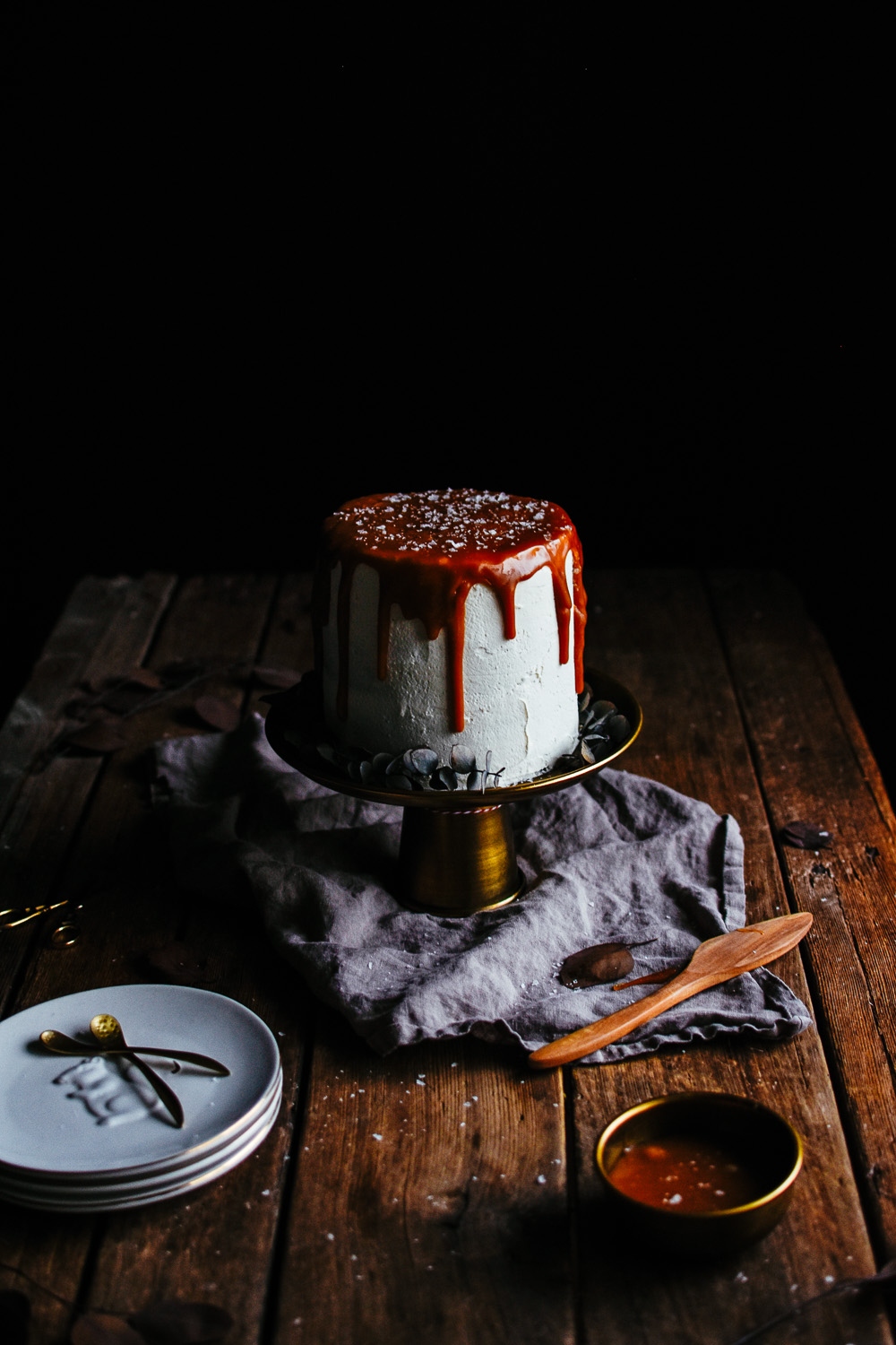 salted caramel drippy cake the farmer s daughter