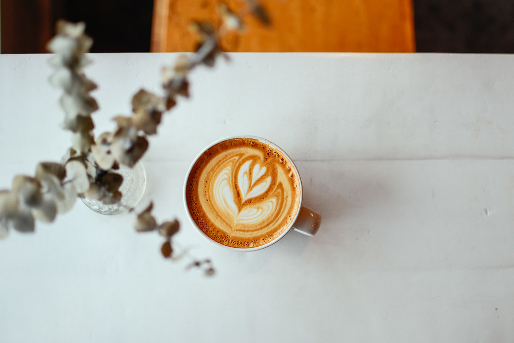 The perfect latte from Oldhand. Photo by me.