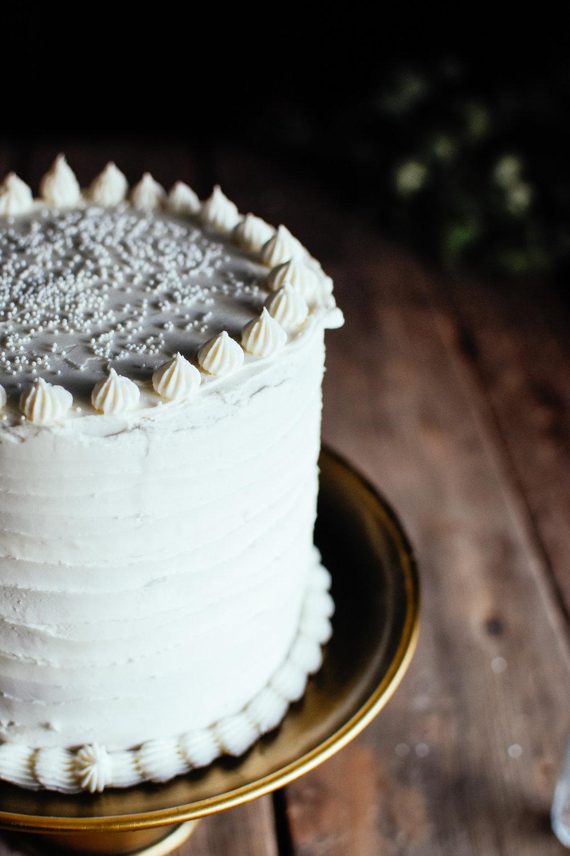 Funfetti Vanilla Cake With Butter Cream Aka The Perfect Birthday