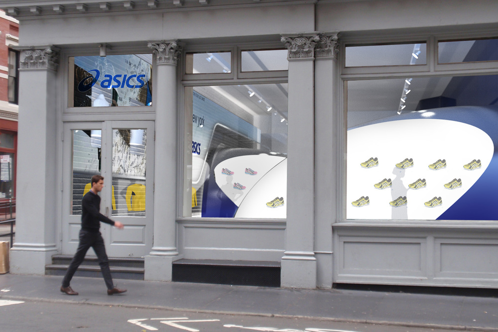 ASICS CONTEXTUAL RETAIL BOUTIQUE