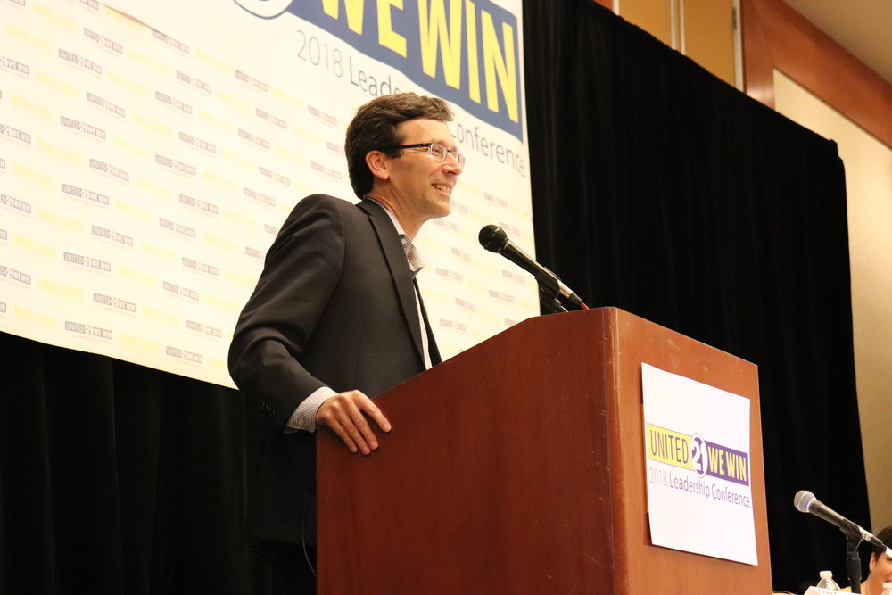 WA State Attorney General  Bob Ferguson gives keynote.