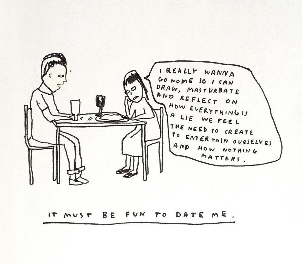nevver :      She's a fun date