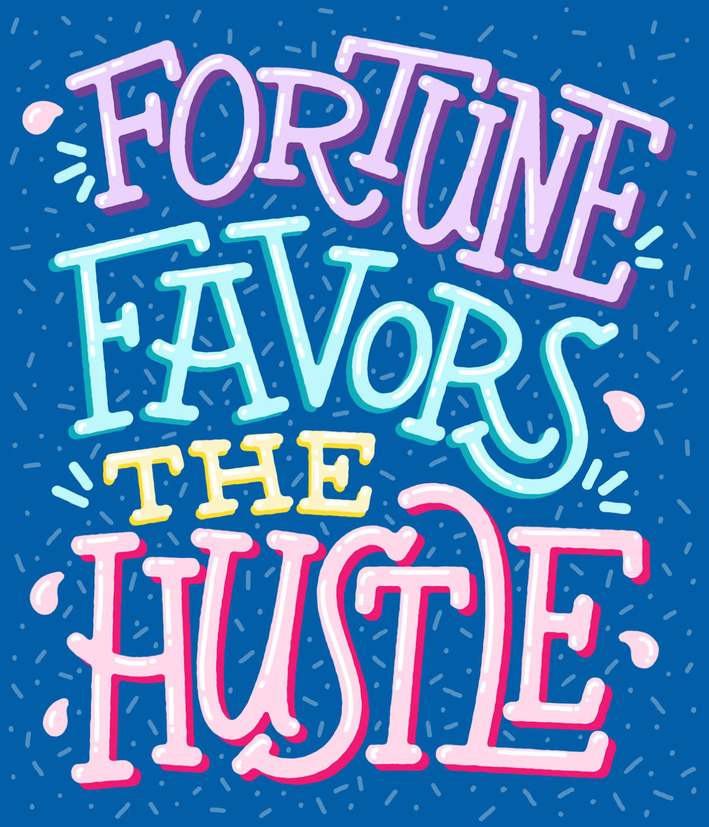 vitaminwater :     no handouts, just hustle #hydratethehustle #vitaminwater #creatrs exclusive art by  josh lafayette