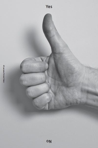 Yes + No, via Baubauhaus.  #poster   #yes   #thumbs up   #no