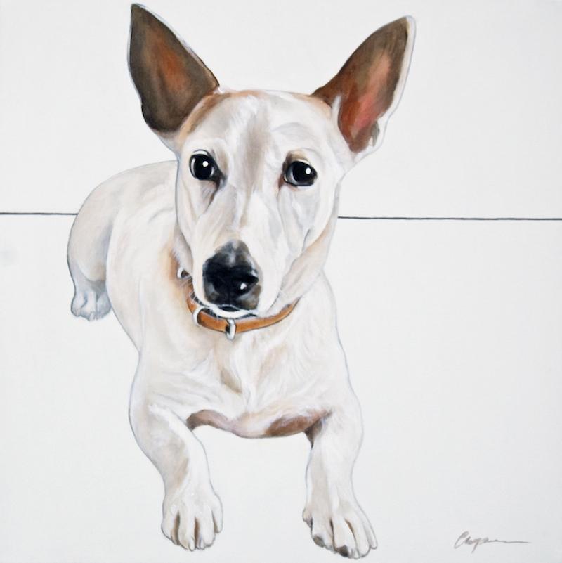 Dog Portrait 1 Xmas 2014 - Debbie Chapman