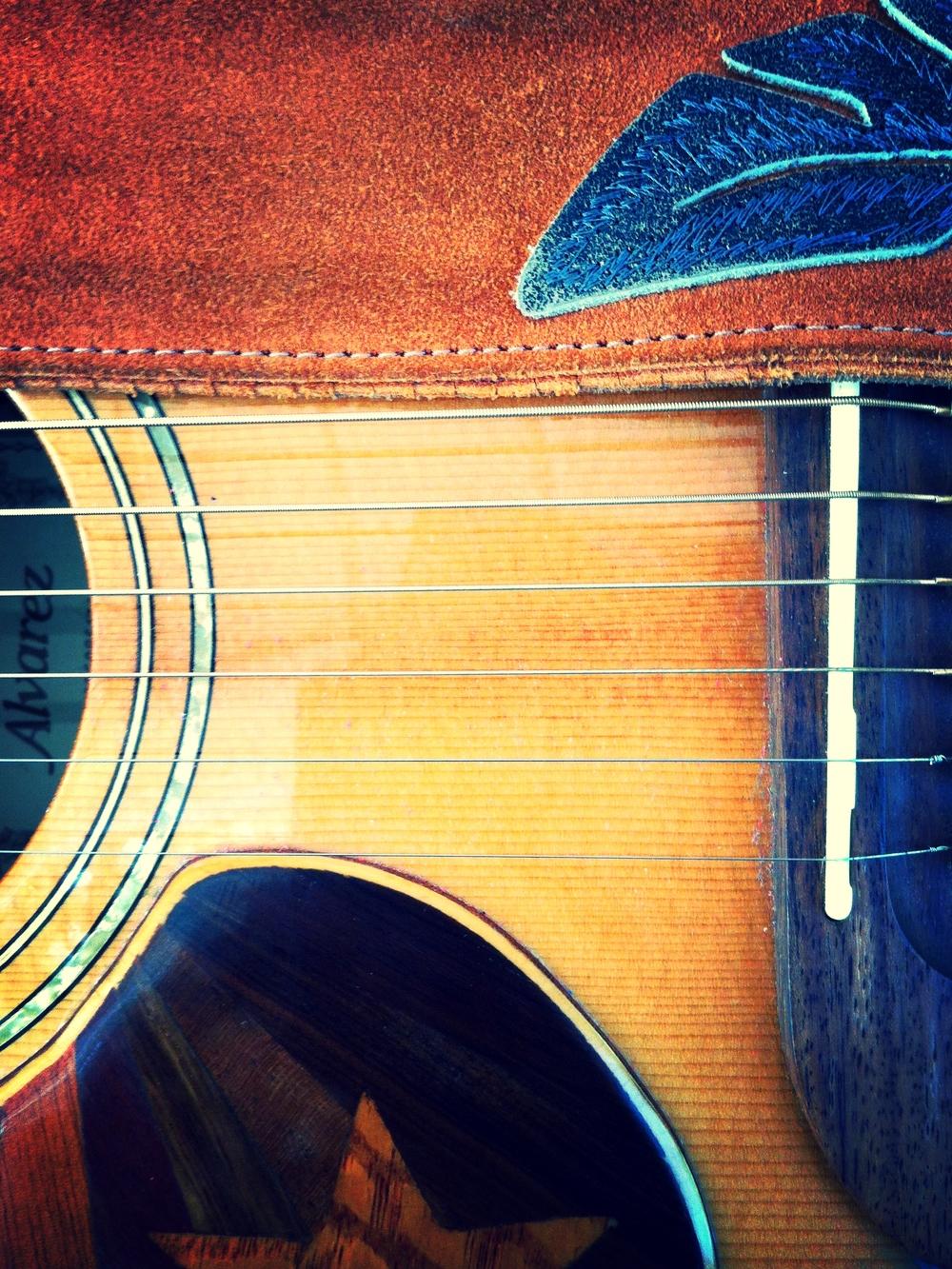 A_snapshot_of_Lindsay's_guitar