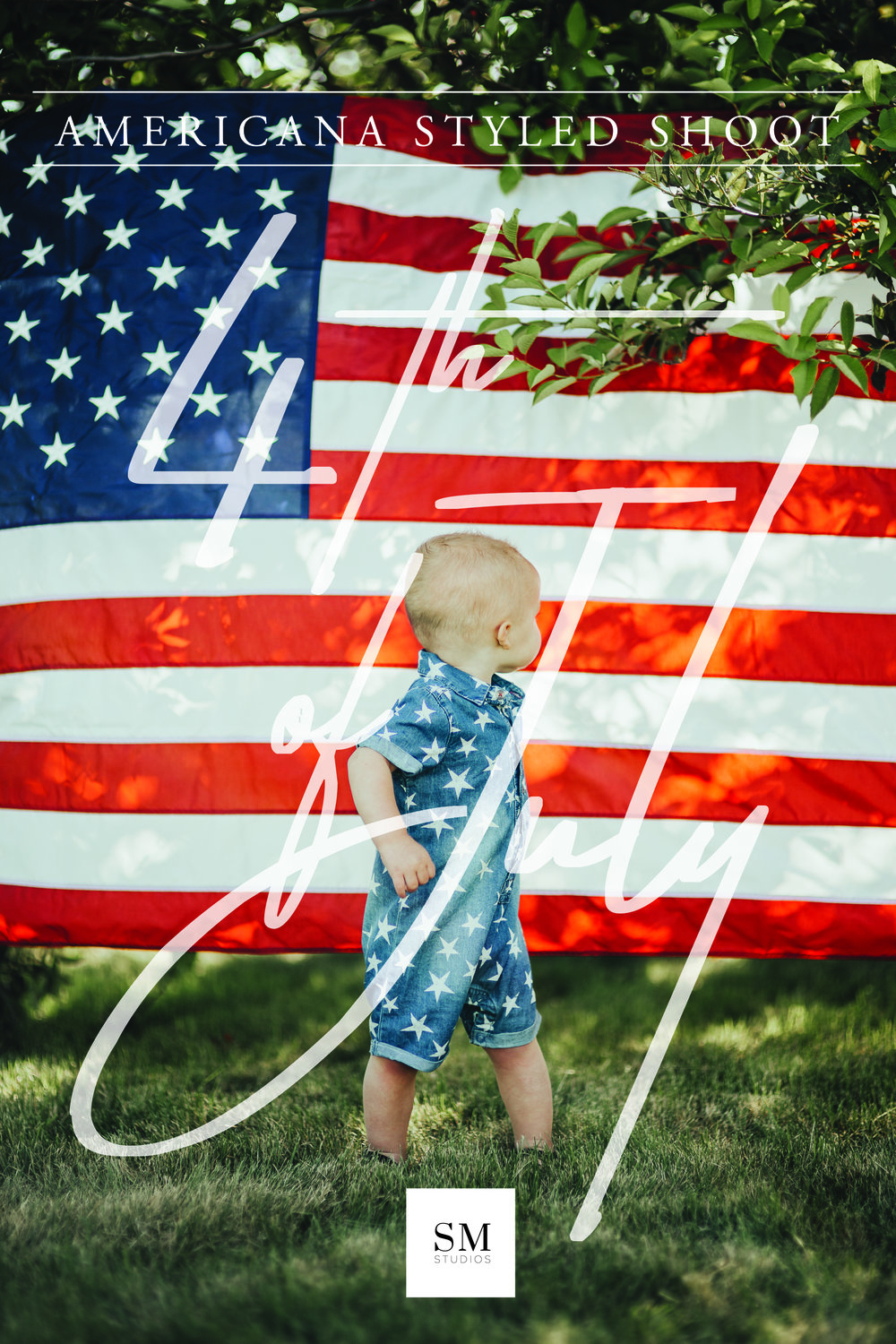 4th of July Photoshoot Sydnee Mecham Studios Southern Utah Photographer