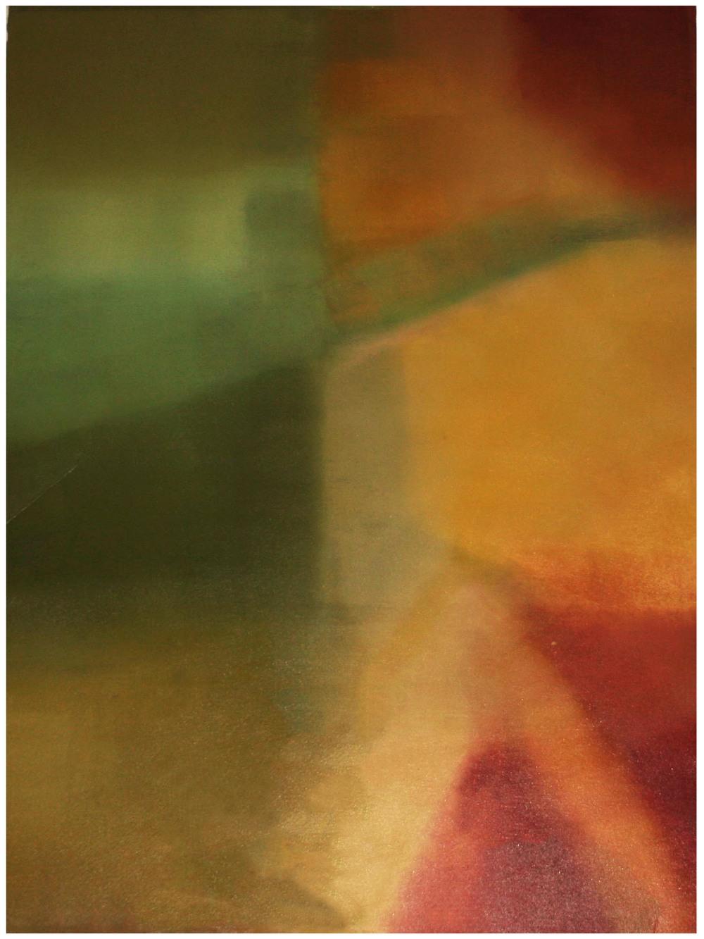 Pyromance  Monoprint 81cm x 61cm