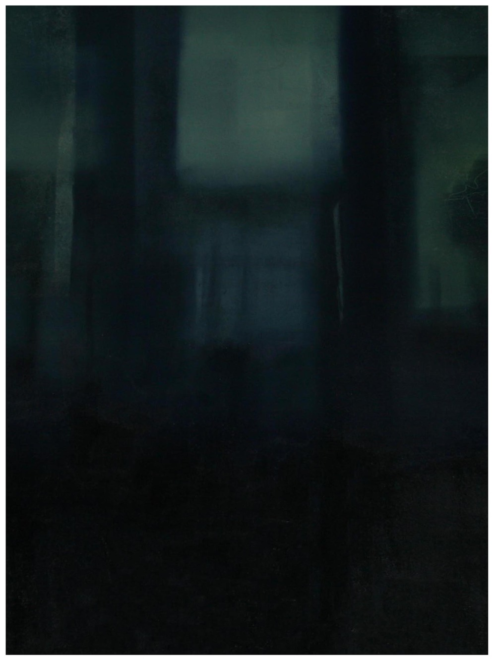 The Deep end  Monoprint 81cm x 61cm