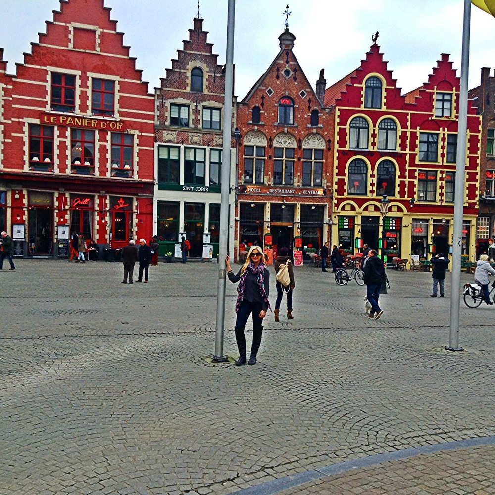The Flemish architecture of Brugge