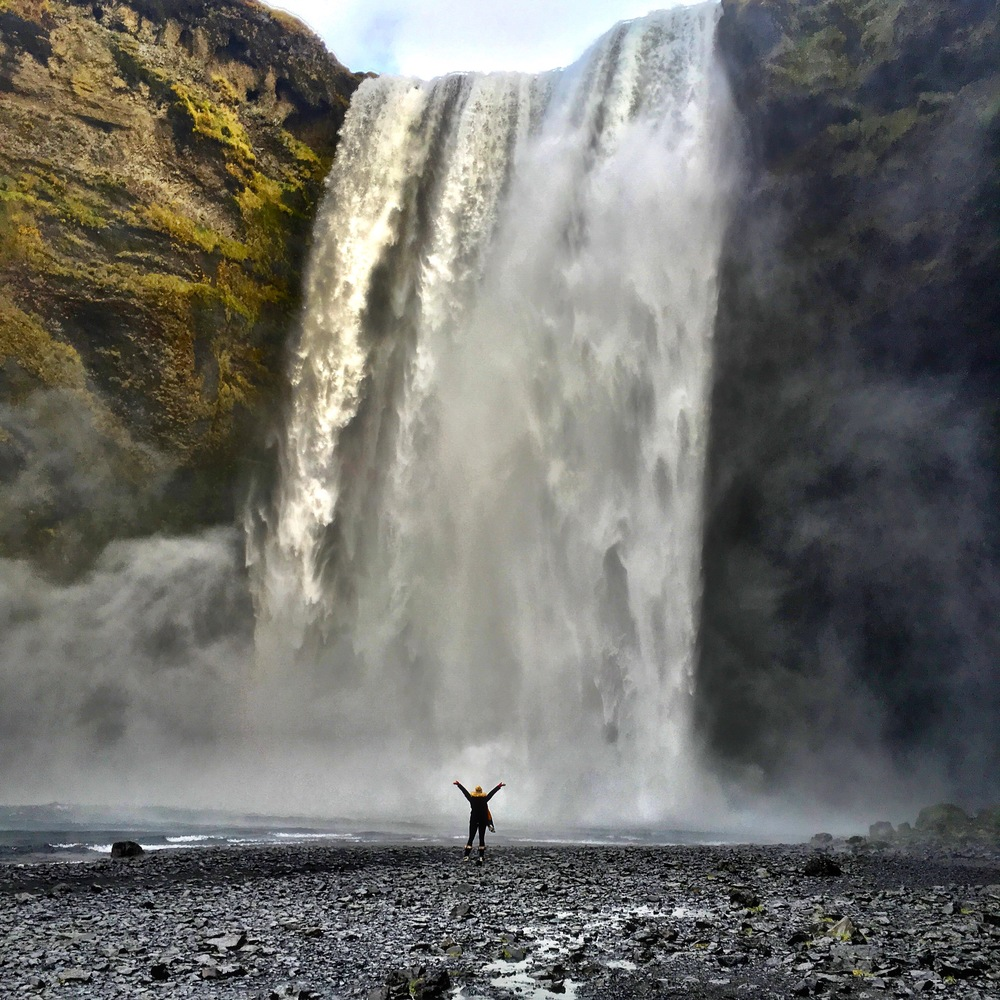 Skogafoss Waterfall- on the way to Vik