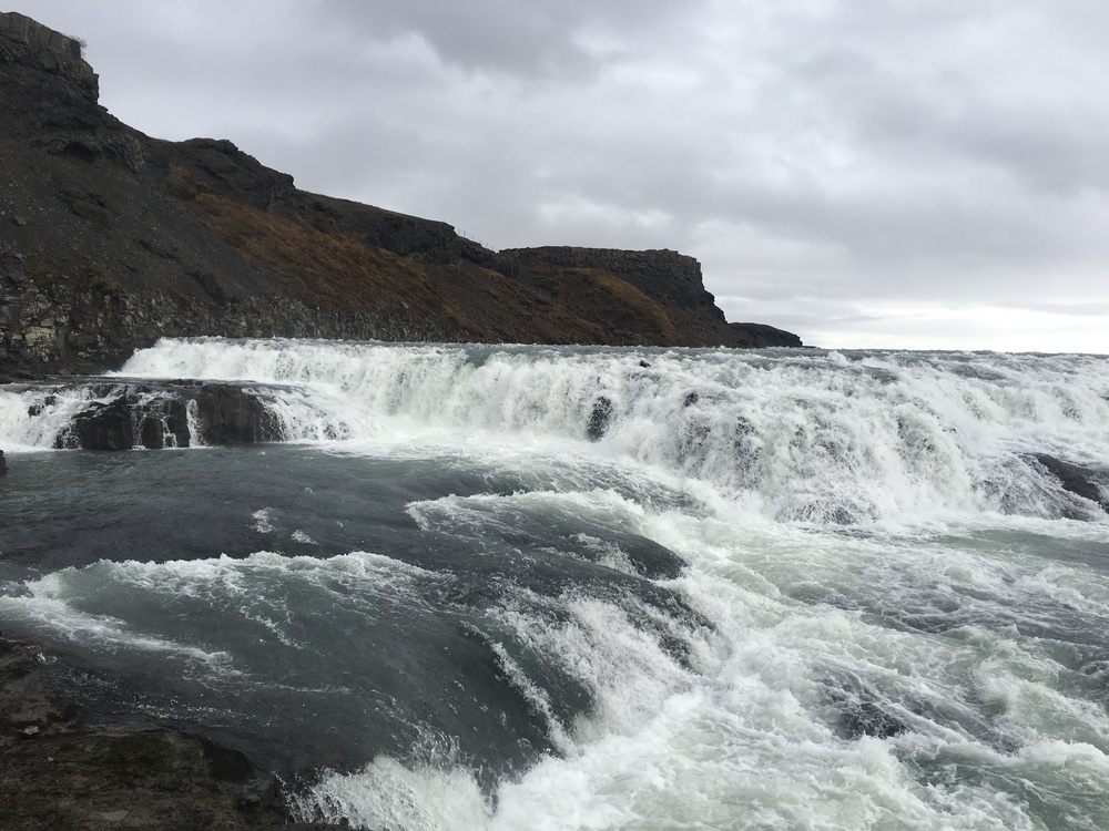 Gulfoss waterfall- The Golden Circle