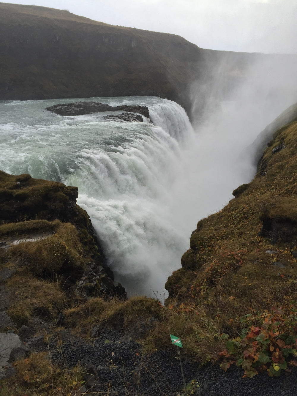 Gulfoss waterfall