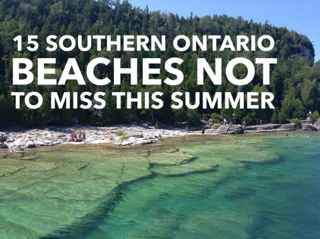 A guide to beachin' in Ontario!
