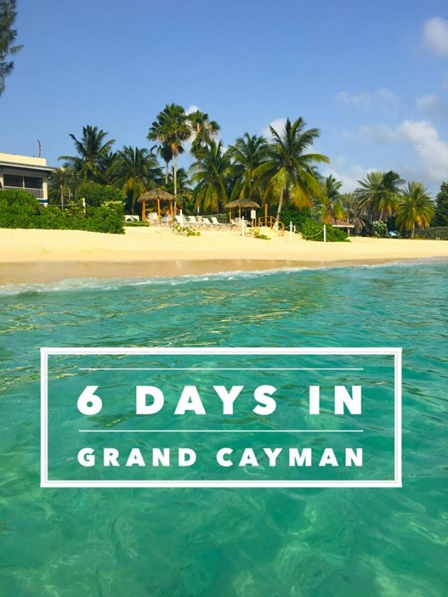 A guide to Grand Cayman!