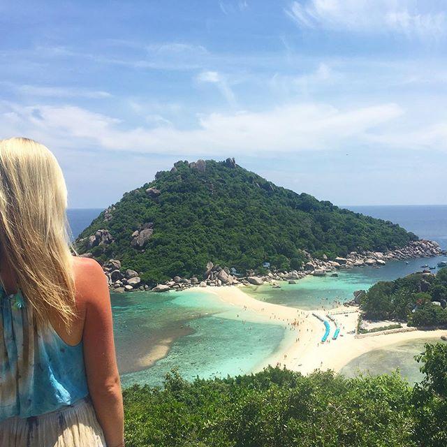 On top of the world in #kohsamui 🌴 #thailand #travel #bestview #thaistagram