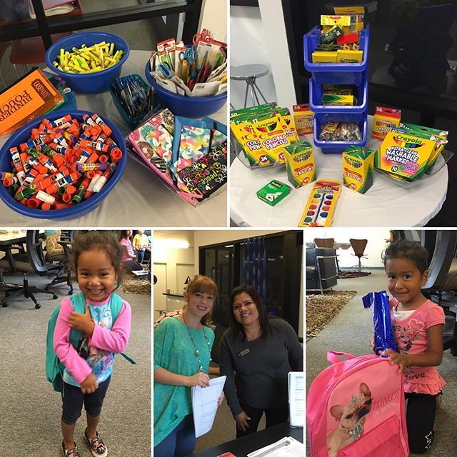 What a honor it was to participate in the Autumn School Supply Drive. What a beautiful day of life and community. #restorationabbey #backpacks #beautifulcommunity #autumndrivesm