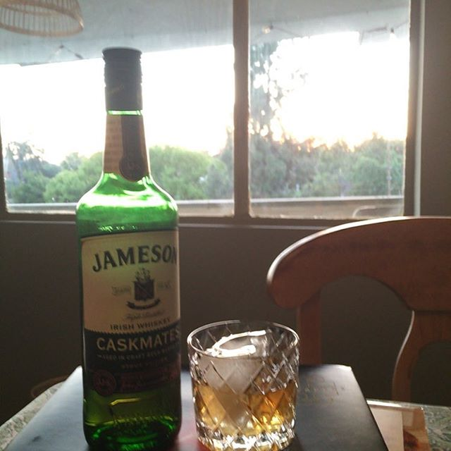 Happy St. Patrick's Day. What's everyone drinking tonight? #cocktaillife #stpatricksday #jamesoncaskmates
