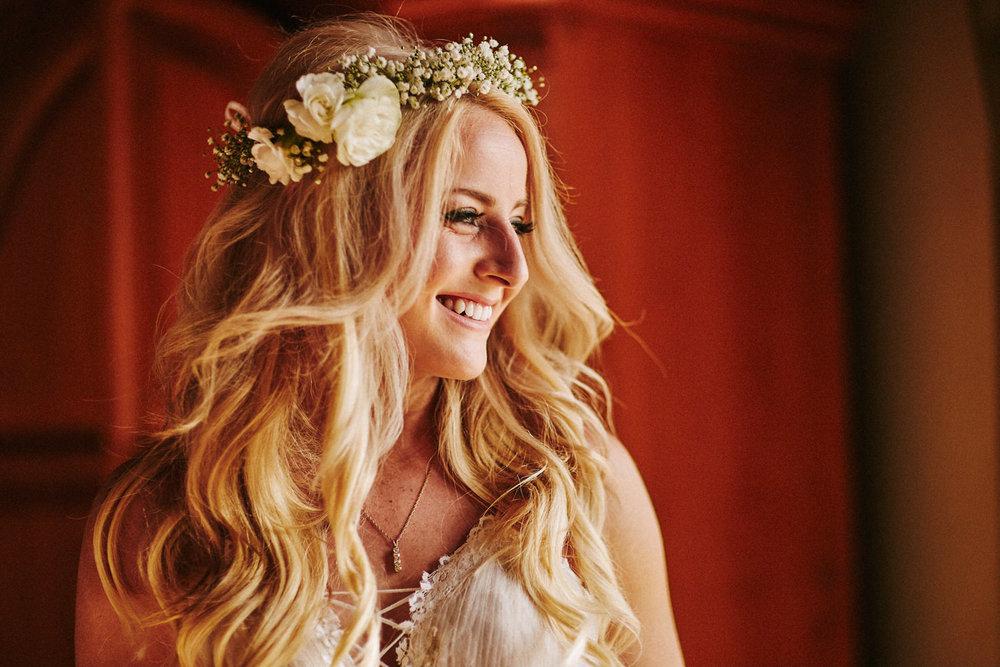 Bride boho look