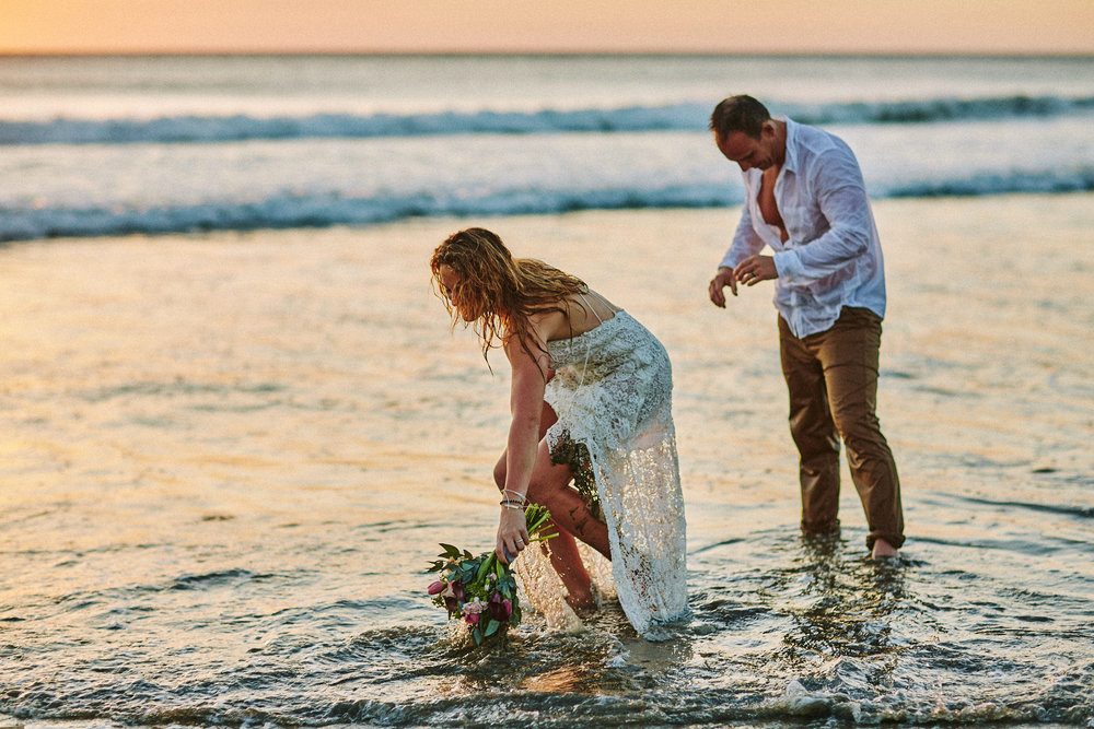 Playa Avellanas Wedding Elopement Costa Rica