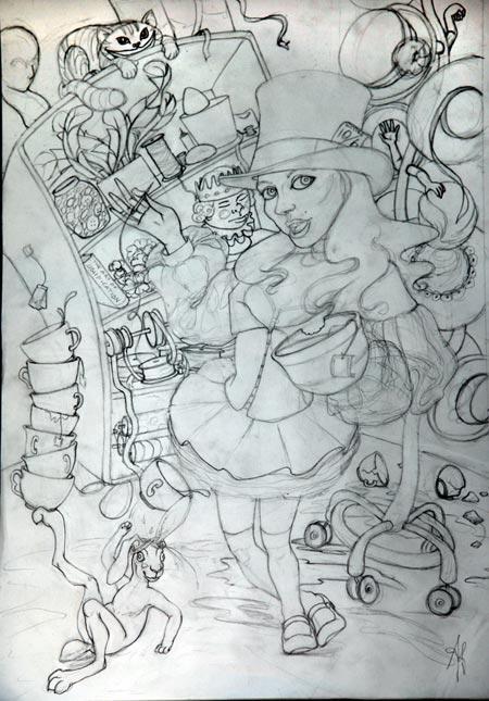 Original sketch.