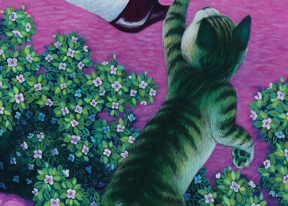 Detail of cat.